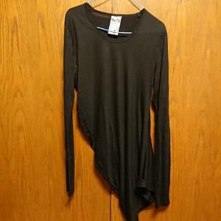 バイアス(BIAS)の BIAS アシンメトリー  ロングTシャツ(Tシャツ/カットソー(七分/長袖))