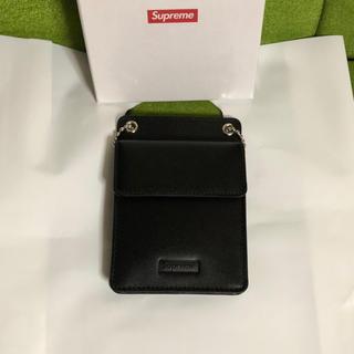 シュプリーム(Supreme)の【送料込】supreme Leather ID Holder + Wallet (折り財布)