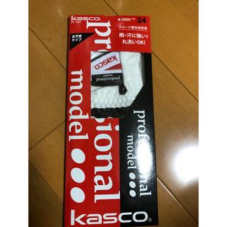 キャスコ(Kasco)のKasco ゴルフ グローブ サイズ24 新品4つ(その他)