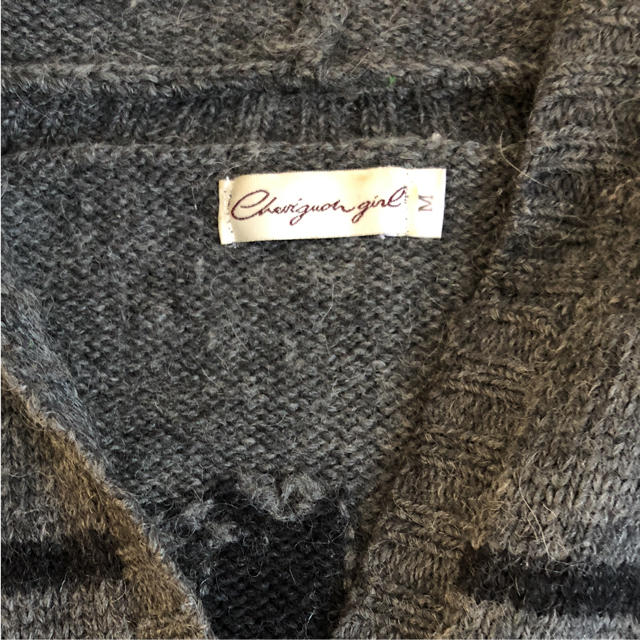 CHEVIGNON(シェビニオン)のカーディガン アウター★シェビニオンガール レディースのジャケット/アウター(ニットコート)の商品写真