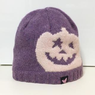 スマディー(SMADDY)の値下げ!雑誌掲載♡未使用*SMADDY パンプキンニット帽(ニット帽/ビーニー)
