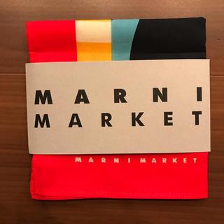 マルニ(Marni)のマルニ MARNI ノベルティ ハンカチ 新品未使用(ハンカチ)