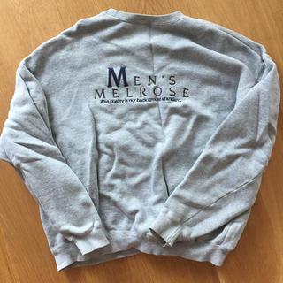 メンズメルローズ(MEN'S MELROSE)のMEN' S MELROSE トレーナー(スウェット)