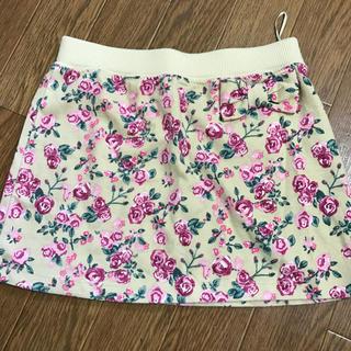 ジーユー(GU)のGU花柄スカート130cm(スカート)