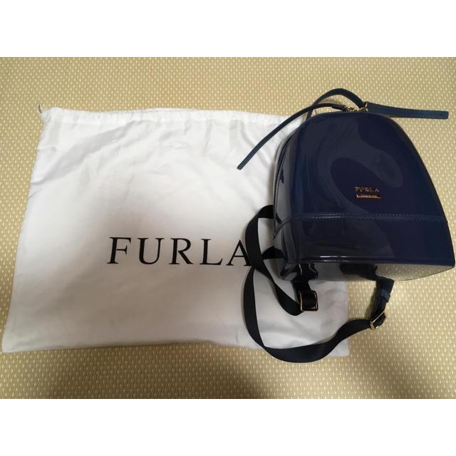 490ba9a3c7a7 Furla - FURLA キャンディリュック ブルーの通販 by Summer☆'s shop ...