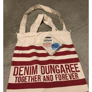 デニムダンガリー(DENIM DUNGAREE)の今期!ノベルティの3wayバッグ 缶バッチをプラスで(その他)