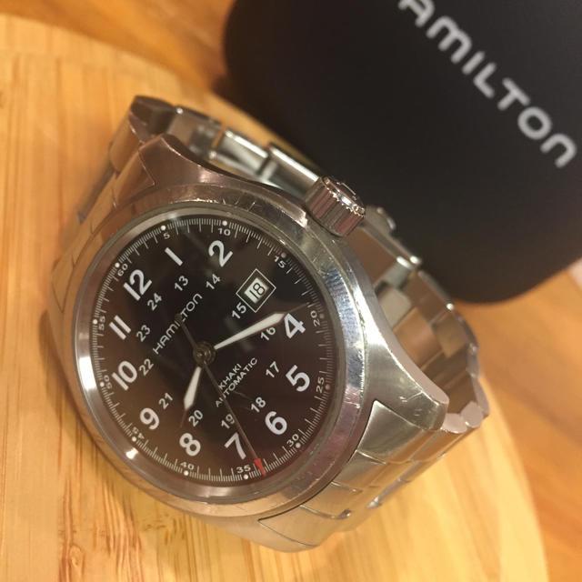 Hamilton - 【OH済み】ハミルトン カーキ フィールド 自動巻 腕時計の通販