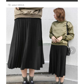 セレクト(SELECT)のセレクトモカ プリーツスカート(ひざ丈スカート)