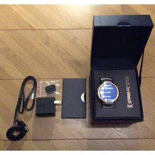 エイスース(ASUS)のShin様 ASUS Zenwatch 3 スマートウォッチ 中古(腕時計(デジタル))