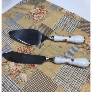 ノリタケ(Noritake)のノリタケ  ケーキサーバ&ナイフ(食器)