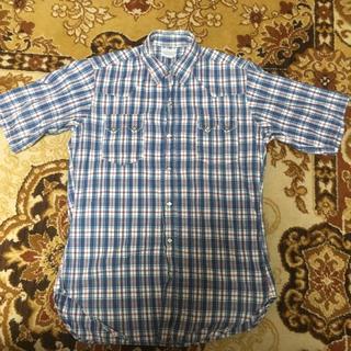 ウエアハウス(WAREHOUSE)のウエアハウス 半袖チェックウエスタンシャツ(シャツ)