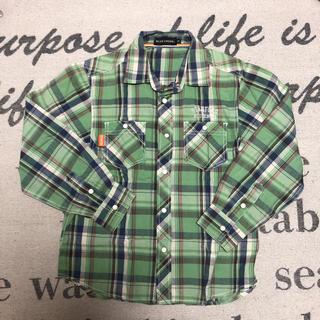 ブルークロス(bluecross)の15.まとめ可⭐︎ブルークロス☆ S(140)☆緑チェックシャツ(その他)