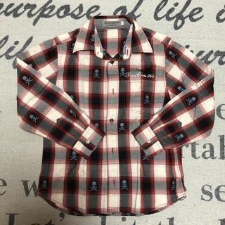 ブルークロス(bluecross)の16.まとめ可⭐︎ブルークロス☆ S(140)☆赤系チェックシャツ(その他)