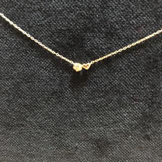 サマンサティアラ(Samantha Tiara)のサマンサティアラ プチダイヤとハートのネックレス(ネックレス)
