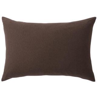 ムジルシリョウヒン(MUJI (無印良品))の無印良品/枕カバー/杢ブラウン(シーツ/カバー)