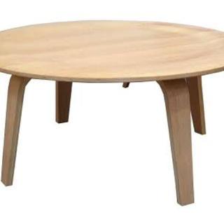イームズ(EAMES)のイームズ木製テーブル(ローテーブル)