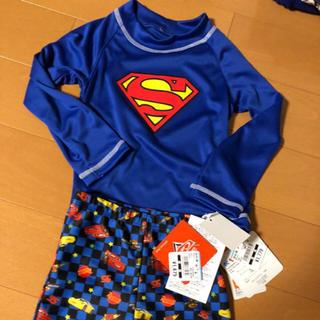 ディズニー(Disney)の新品 ラッシュガード 水着セット 男の子95cm(水着)