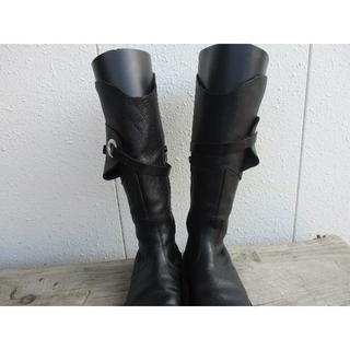 トリッペン(trippen)のTrippen◆ウォーリア ブーツ 黒 37size◆トリッペン(ブーツ)
