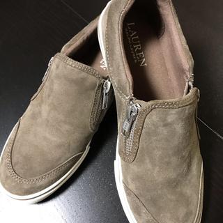 ラルフローレン(Ralph Lauren)の本日だけ値下げ ラルフローレン 女性 スエードローファー(ローファー/革靴)