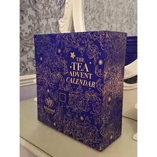 【値下げ】Whittardティーアドベントカレンダー〈クリスマス限定〉(茶)