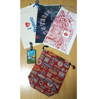 ヒステリックミニ(HYSTERIC MINI)のヒスミニ 巾着袋ノベルティー ショップ袋(ランチボックス巾着)