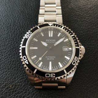 エポス(EPOS)のエポス ダイバーズ EPOS 3413BKM 美品(腕時計(アナログ))