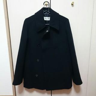 H.A.K コート ブラック 黒 ウール