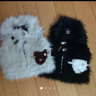 ナチュラルブー(Natural Boo)のナチュラルブー☆羊ファーベストセット(ジャケット/上着)
