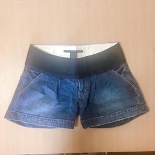 ダブルスタンダードクロージング(DOUBLE STANDARD CLOTHING)のダブルスタンダード SOV デニムショートパンツ 36(ショートパンツ)