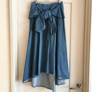 キッカザダイアリーオブ(KIKKA THE DIARY OF)の新品デニムスカート KIKKA(ロングスカート)