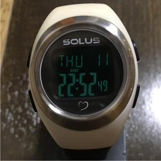 ソーラス(SOLUS)の心拍計付き腕時計 SOLUS(腕時計(デジタル))