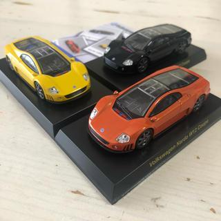 フォルクスワーゲン(Volkswagen)の京商 1/64 フォルクスワーゲン W12 ナルド クーペ 全色セット!(ミニカー)