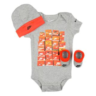ff963566adc51 ナイキ(NIKE)の3点ギフトセット Nike Infant Set Grey 0-6m
