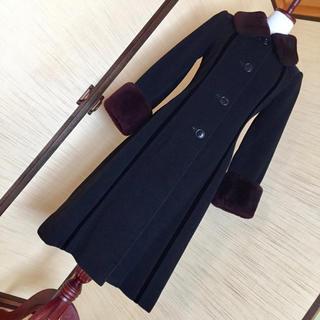 ハナエモリ(HANAE MORI)のクラシックスタイルコート美品5〜7号(ロングコート)