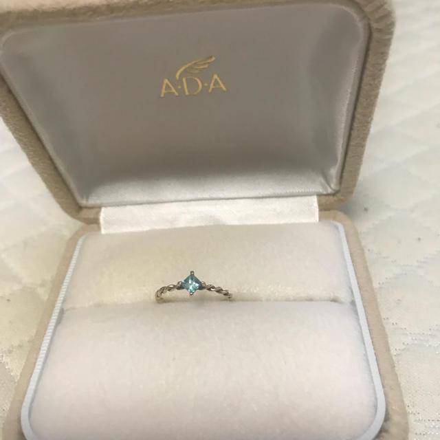 4℃(ヨンドシー)のADA ピンキーリング レディースのアクセサリー(リング(指輪))の商品写真