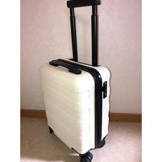 ムジルシリョウヒン(MUJI (無印良品))の無印良品 キャリーバッグ アイボリー 機内持ち込み 19L(スーツケース/キャリーバッグ)