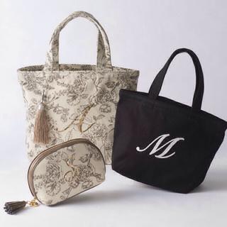 ジュエルナローズ(Jewelna Rose)のジュエルナローズ  トートバッグ  イニシャルS  新品未使用 紙袋別(トートバッグ)