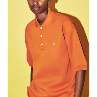 ディガウェル(DIGAWEL)の未使用 DIGAWEL MIN-NANO POLO ORANGE(ポロシャツ)