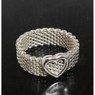 ティファニー(Tiffany & Co.)のティファニー TIFFANY&CO.サマセット ハート リング 14号 仕上済(リング(指輪))