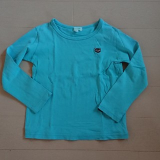サンカンシオン(3can4on)の3can4on ワンポイント 長袖Tシャツ 110センチ(Tシャツ/カットソー)