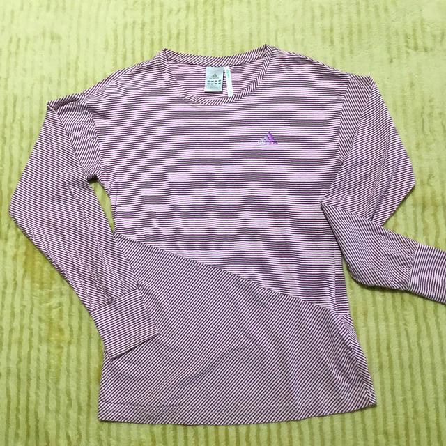 adidas(アディダス)のadidas レディースL ロンT レディースのトップス(Tシャツ(長袖/七分))の商品写真