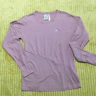 アディダス(adidas)のadidas レディースL ロンT(Tシャツ(長袖/七分))