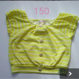 シマムラ(しまむら)の女の子しまむら h.n.c コラボトップス150(Tシャツ/カットソー)