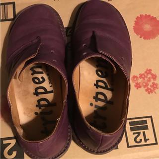 トリッペン(trippen)のトリッペン  ハーフェル サイズ39(ローファー/革靴)