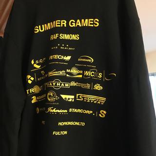 ラフシモンズ(RAF SIMONS)のraf simons summer games スウェット(スウェット)