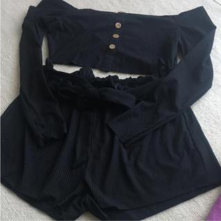 ザラ(ZARA)のzaful セットアップ 部屋着にも 新品未使用(ルームウェア)