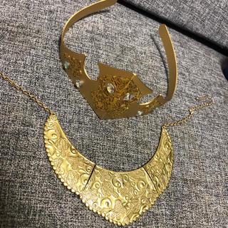 オーロラヒメ(オーロラ姫)のオーロラ姫 ティアラ&ネックレス エンジェルシークレット 仮装(衣装)