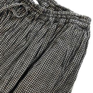 ソイル(SOIL)のSOIL  チェックギャザースカート(ロングスカート)