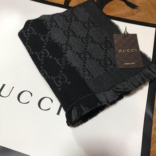 グッチ(Gucci)のGUCCI ウールマフラー(ストール)