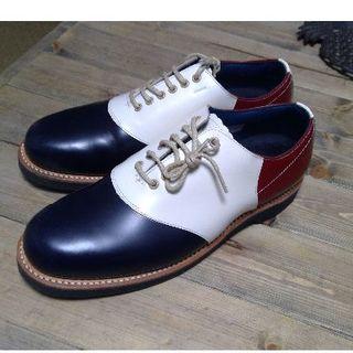 リーガル(REGAL)のシエルさん専用 REGAL 革靴 USA 26cm 3色 赤 白 青 (ドレス/ビジネス)
